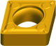 tungsten carbide indexable inserts CCMT-HMF