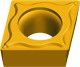 cemented carbide indexable inserts CCMT-HPF